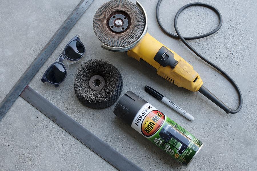Минимальный набор инструментов для изготовления мангала