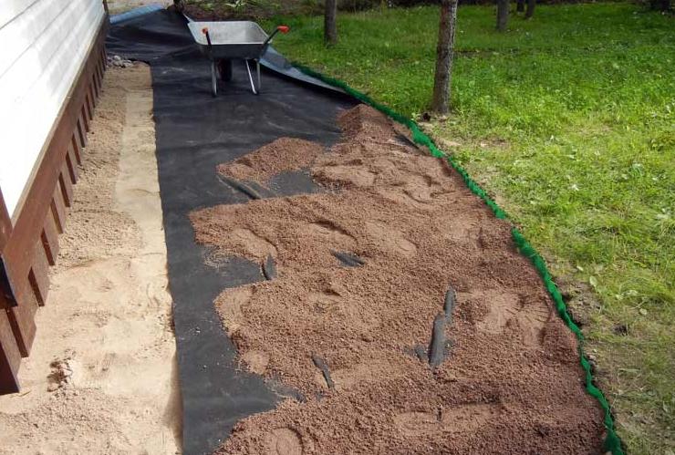 инструкция укладки садовой дорожки