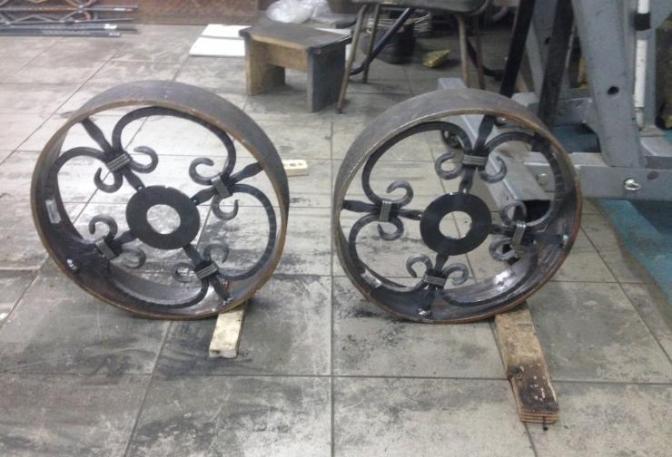 колеса для мангала