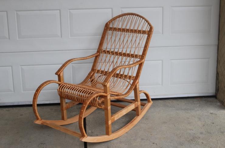Подвесное кресло-качалка своими руками