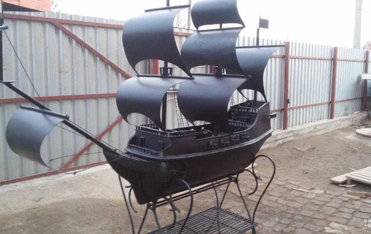 Мангал корабль