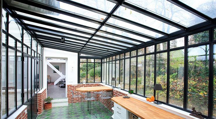 потолок_стекло