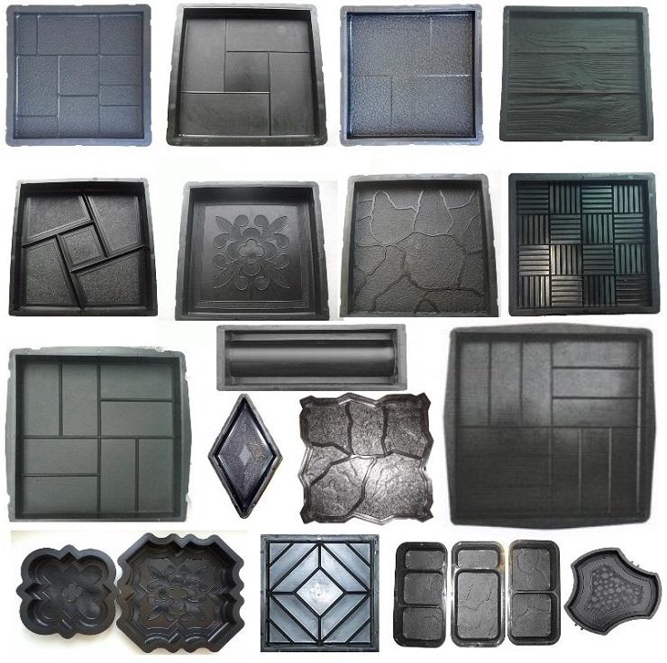 Форма тротуарной плитки